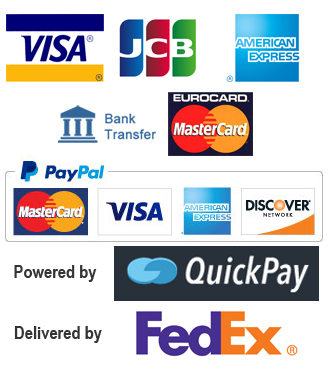 Credit card accepted by our store